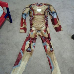 Other - Boys Buff Iron Man Halloween Costume